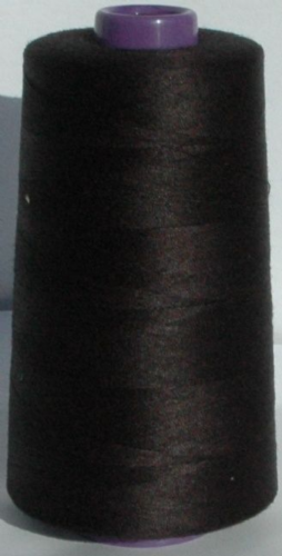 Sewing Machine  & Overlocker Thread - Black
